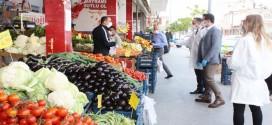Düziçi Kaymakamı ALMALI, Gıda esnaflarına denetim de bulundu