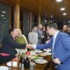 Bahçe Kaymakamı Mehmet Alper Çığ'a veda yemeği verildi