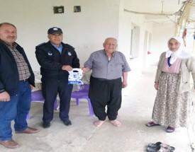 Ellek Belediyesi 65 yaş üstü hastalara evinde hizmet ediyor