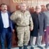 Nurettin Mart'tan askerimize anlamlı ziyaret