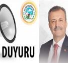 Belediye Başkanı Abbas Yeşildemir'den vatandaşlara önemli DUYURU