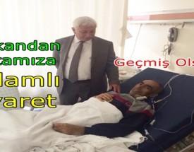 Recep Soy'dan Ankara da yatan hastamıza ziyaret