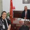 Abdulvahap Filiz, Düziçi Belediye Başkanı Ökkeş Namlı ile Makamında Bir Araya Geldi